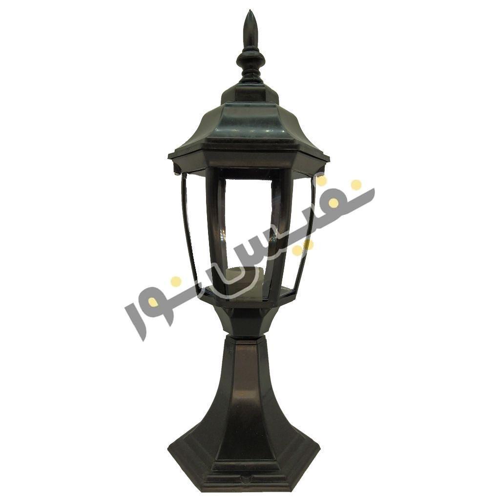 خرید و قیمت چراغ پارکی و حیاطی سردری یا سرستون پلاستیکی ارزان OL01-P