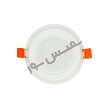 قاب هالوژن ABS دورشیشه ای پلاستیکی کد 2013