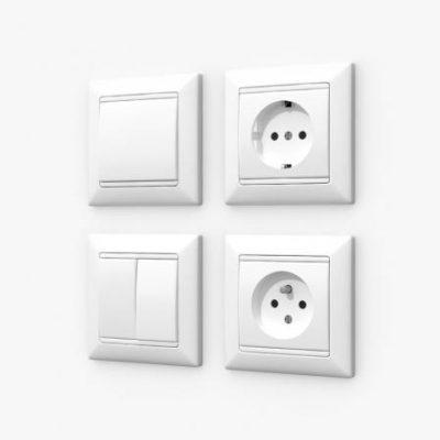 کلید و پریز Switches and Sockets