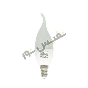 لامپ ال ای دی 6 وات اشکی مات کیهان