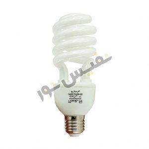 خرید و قیمت لامپ کم مصرف ایرانی ارزان قیمت آفتابی و مهتابی 25 وات آژیراک