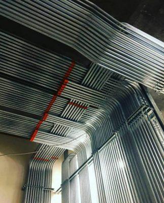 لوله برق فولادی