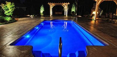چراغ استخری و آبنما توکار و روکار (Pool and waterfall lights)