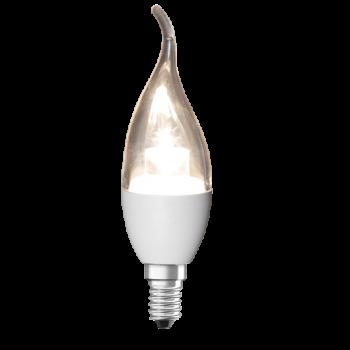 لامپ شمعی اشکی مات و شفاف آژیراک