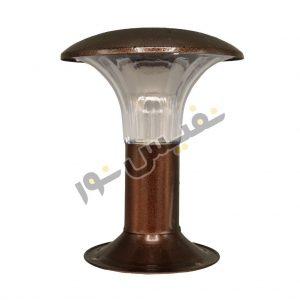 خرید و قیمت چراغ پارکی حیاطی سردری فلزی قارچی چتری مدل OL23-P