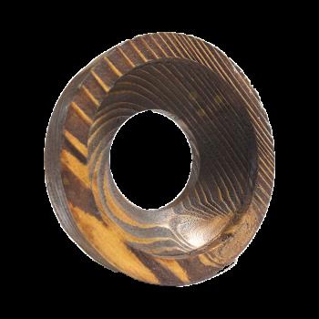 خرید و قیمت قاب هالوژن چوبی حجم دار عمیق (یک قلو)