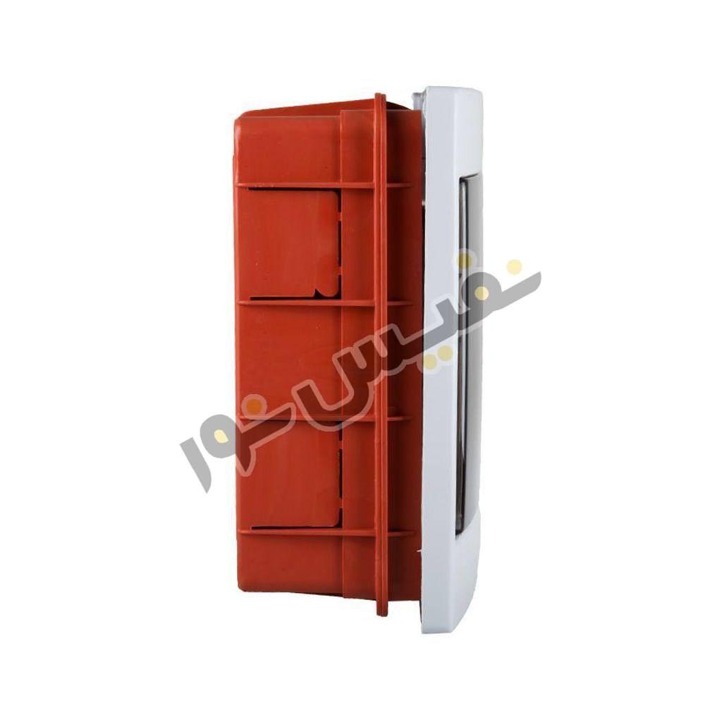 خرید و قیمت جعبه فیوز یا کلید مینیاتوری 4 عددی ارزان سارو مدل مهتاب