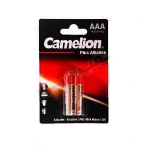 باتری نیم قلمی کملیون مدل Plus Alkalaine (بسته 2 عددی)