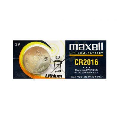 خرید و قیمت باتری سکه ای یا دکمه ای 3 ولت ارزان قیمت مکسل مدل CR2016