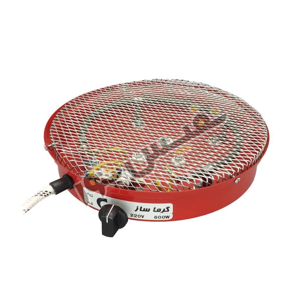 خرید و قیمت کرسی یا بخاری برقی ایرانی کم مصرف ارزان قیمت 600 وات گرما ساز