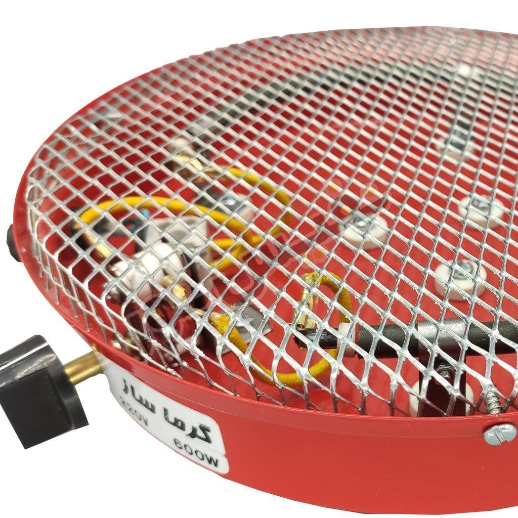 کرسی برقی 600 وات گرما ساز