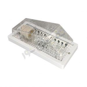 خرید چراغ دیواری سرویس بهداشتی و حمام ارزان پلاستیکی IL39