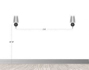 روش نصب چراغ دیواری