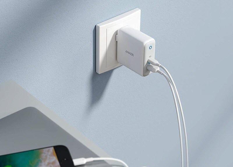 خرید شارژر باتری دیواری فست شارژ