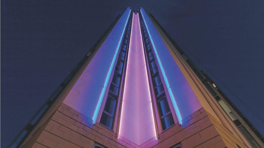 روش های نوین نورپردازی نمای بیرونی ساختمان