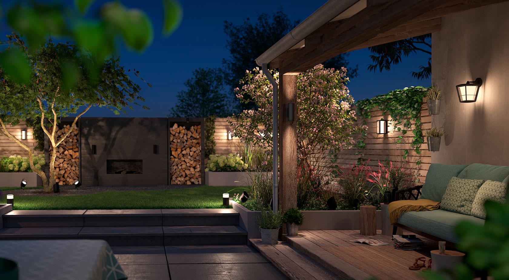 چراغ دیواری حیاط چیست؟