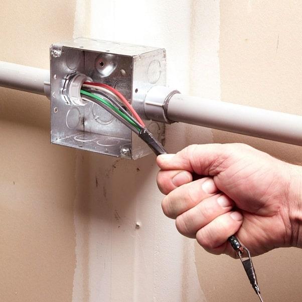 کاربرد فنر سیم کشی برق ساختمان